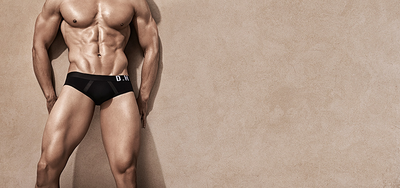 Gigolo Joe II Brief Black On Black (LXL)