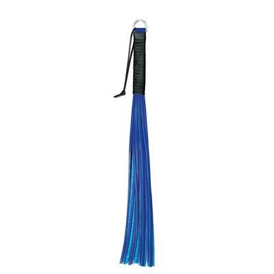 Lederen Flogger Blauw