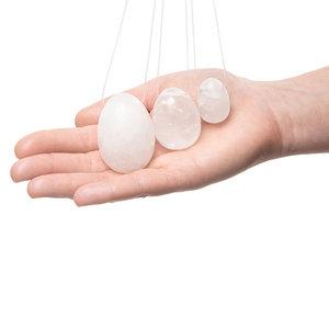 Yoni Eggs Bergkristal (Set)